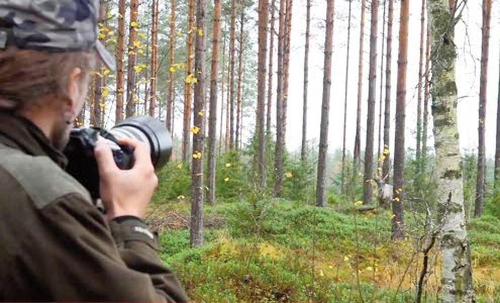 Riistaa voi katsella myös kameran linssin kautta. Kamerametsästys ei kaikkia metsästäjiä innosta.