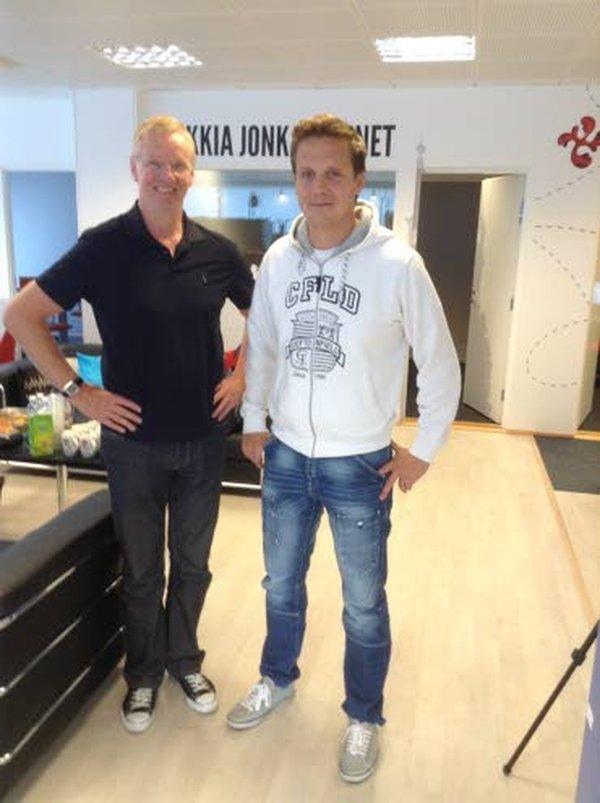 Kari Jalonen (vasemmalla) ja Lauri Marjamäki kulkevat samoja polkuja kärppäluotsista leijonakuninkaaksi.
