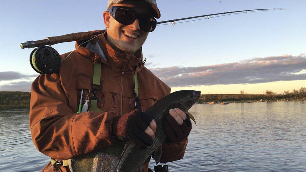 Parhaat kalastushetket ovat lähes poikkeuksetta myöhään illalla ja yöllä. Kuva Tapio Pelkonen.