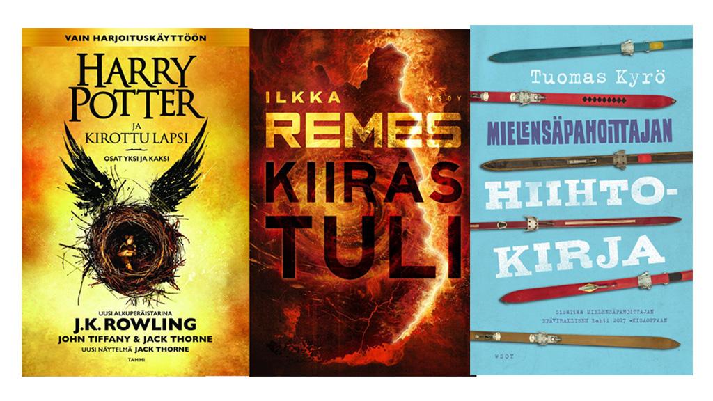 Harry Potter ja kirottu lapsi oli vuoden 2016 myydyin kirja Suomessa – Kauppasuomi