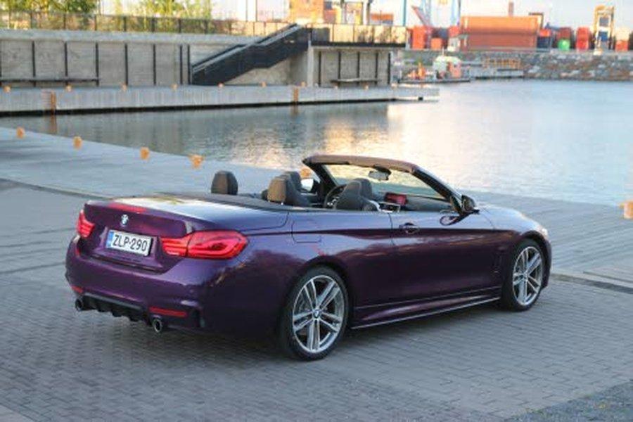 BMW 4-sarjan Cabrioon on tarjolla tehokkaita ja vielä vähän tehokkaampia moottorivaihtoehtoja!