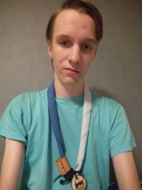 Liminkalainen Tommi Väyrynen on 17-vuotias nuorukainen, jolle partio on yksi elämän parhaita mausteista.