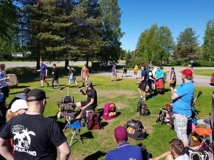 Kärkkäinen Open frisbeegolf-kilpailujen järjestelyjä ja rataa on aina kiitetty, ja myös sää on joka vuosi suosinut kilpailua.