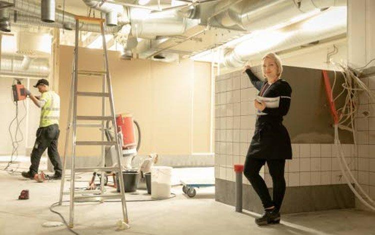– Remontin myötä Ylivieskan Kärkkäisen ScanBurgerin keittiö ja asiakaspalvelutilat uudistuvat täysin, kertoo ravintolapäällikkö Piia Ruuska.
