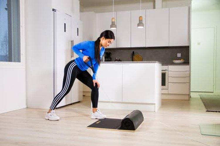 Weelan kevyt ja kompakti koko mahdollistaa treenit monessa paikassa.
