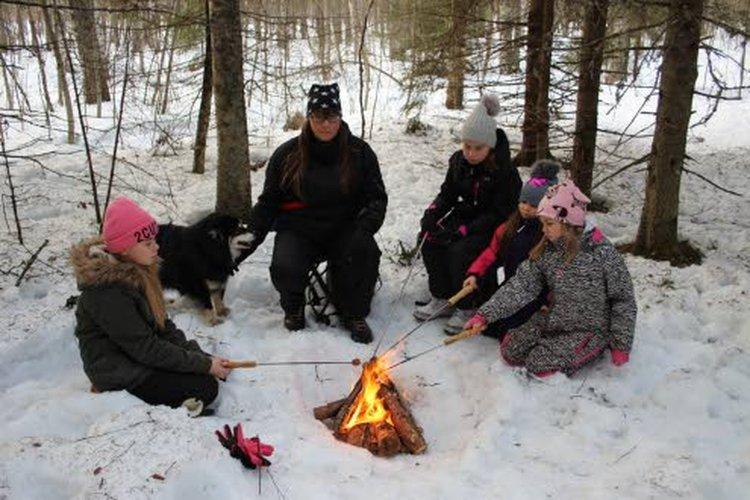 Luonto on aina ollut tärkeä voimavara Marjo Paanaselle. Hän on opettanut myös lapsensa nauttimaan Suomen luonnosta kaikkina vuodenaikoina.
