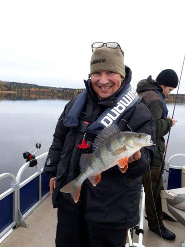Ahvenen kalastusopas Juha Happonen nostaa suorastaan jumalaiseksi ruokakalaksi. – Ahvenen pikantti maku ei kaipaa edes suolaa, kun sen paistaa pannulla voissa heti perattua, hän sanoo.