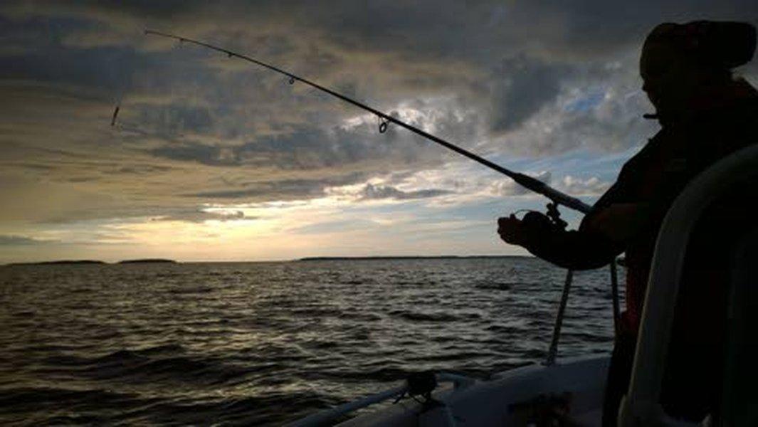 Luonto on tärkeä voiman lähde Henna-Riikka Muikkulalle. Kesällä kalavedet kutsuvat.
