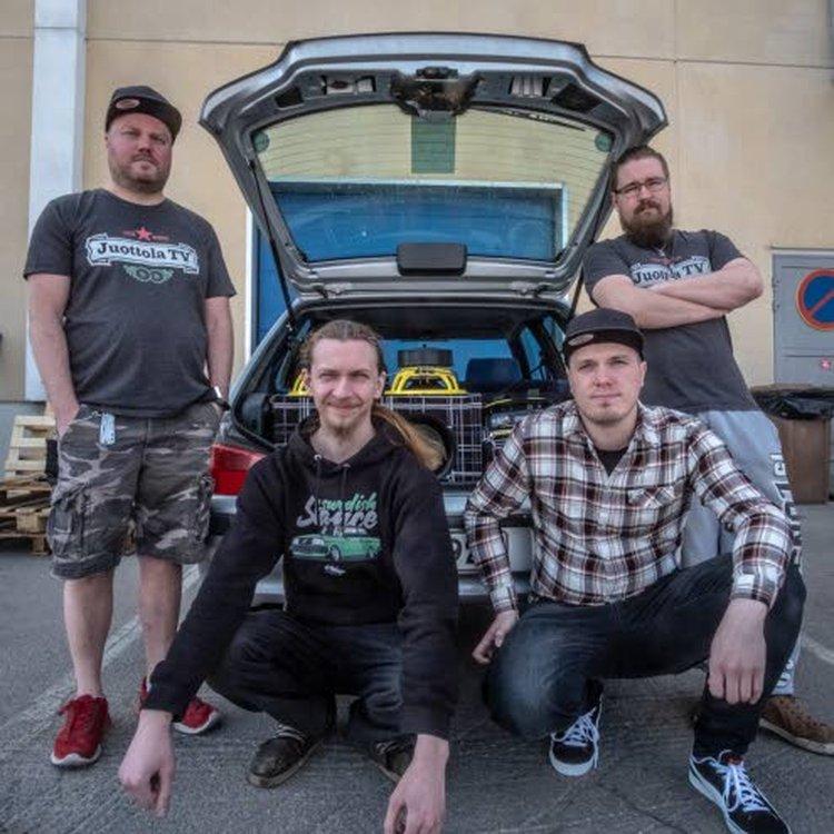Jouko Kaartisen ja Matti Eskolan vuoden 2018 kilpailuauto.