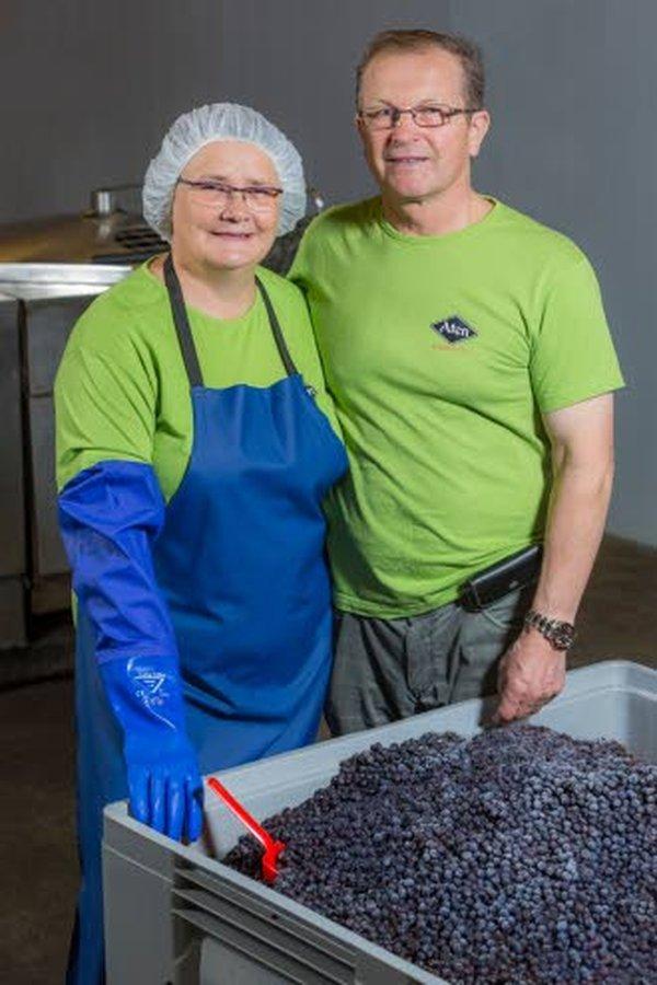 Pirjo ja Atte Valkiainen ryhtyivät vuonna 1997 jalostamaan marjoja täysmehuiksi, aluksi toiminimellä Aten marja-aitta. Sitä ennen he viljelijät kymmenkunta vuotta mansikkaa.