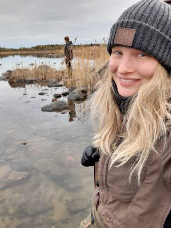 Riikka Niemi on ollut parisen vuotta mukana Anarin metsästys- ja outdoor-vaatemalliston testiporukassa.